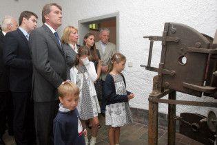 Ющенко сказав, що робота його дітей - відвідувати офіційні заходи