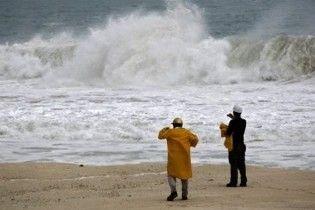 """Тропічний шторм """"Ерміна"""" досяг берегів США і завдав перші збитки"""