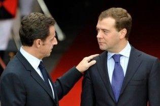 Саркозі вважає Росію головним партнером Європи