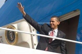 Обама відправився у масштабне турне країнами Азії