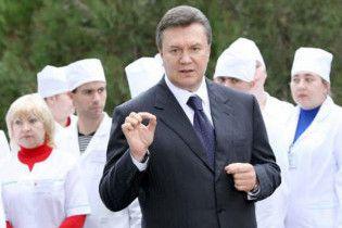 Янукович звинуватив у епідемії неузгодженість дій влади