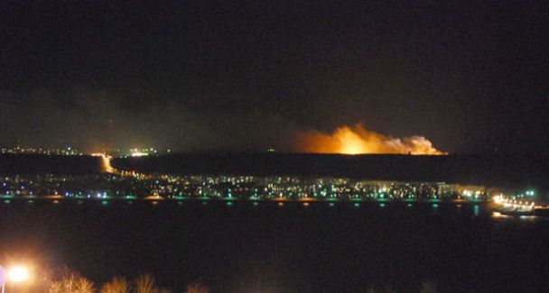 Від вибухів на складі боєприпасів в Ульяновську загинули двоє пожежників
