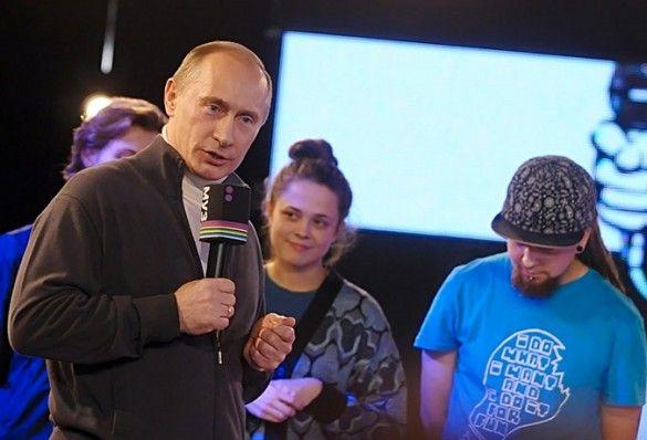 """Путін на """"Битві за респект"""""""