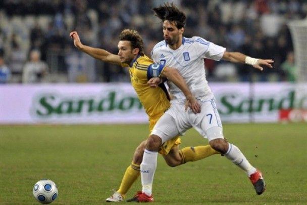 Греція - Україна - 0:0. Нічия не на користь України