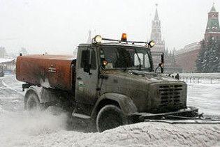 Снігопад у Москві призвів до сотень ДТП з жертвами
