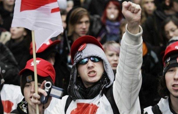У Німеччині пройшли багатотисячні демонстрації студентів