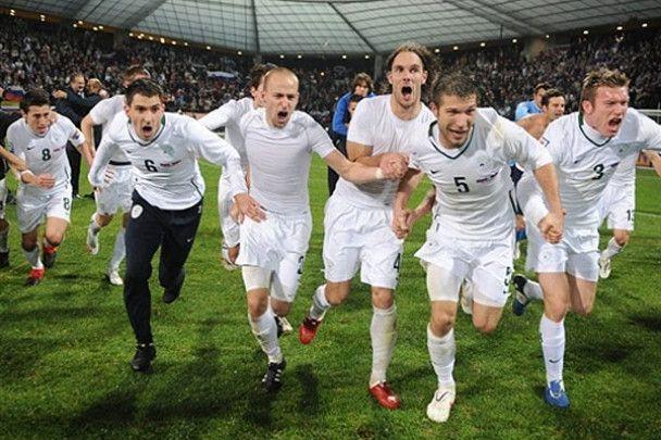 Словенія 1:0 Росія. Фотозвіт
