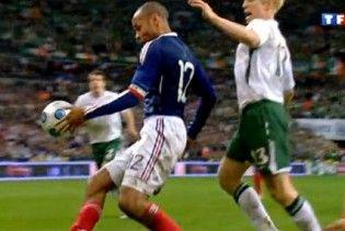 ФІФА покарає Т'єррі Анрі за порушення принципів Fair Play