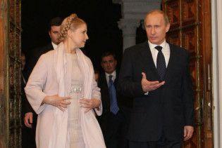 """Путін і Тимошенко """"пожартували"""" про Ющенка і Саакашвілі"""