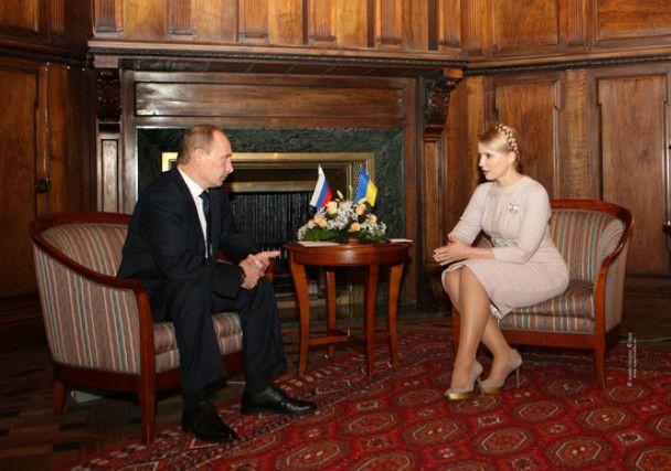 Тимошенко пообіцяла Путіну платити за газ