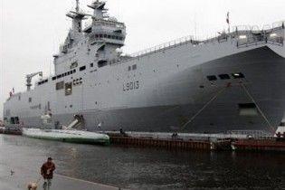 Намір РФ придбати гелікоптероносець Mistral занепокоїв Естонію і Грузію