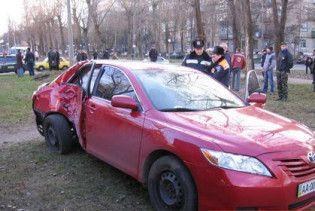У Києві Toyotа вбила жінку на тротуарі