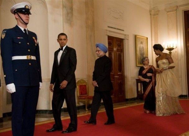 На прийом в Білий дім проникли непрохані гості