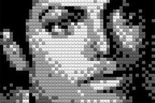 Художник зібрав з Lego портрет Джексона