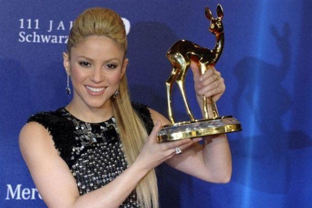 """Клички та Шакіра отримали премію """"Bambi 2009"""""""