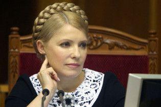 Тимошенко запевняє, що боротьбу з корупцією не варто починати з неї