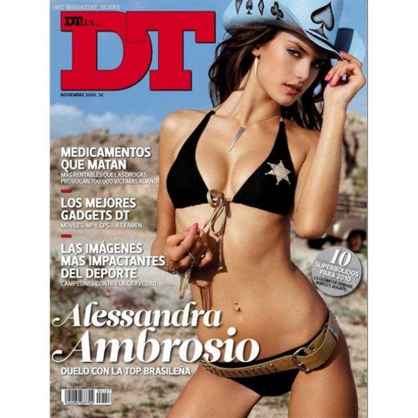 Алессандра Амбросіо роздяглась для DT Magazine