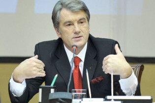 Ющенко назвав аварію на телевежі диверсією проти себе