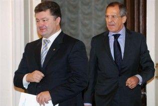 Порошенко і Лавров домовилися зустрітися в Лондоні
