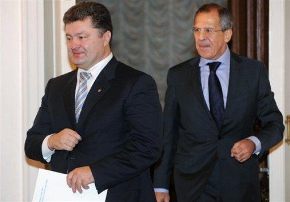 Петро Порошенко та Сергій Лавров