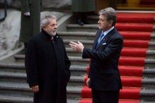 Ющенко підписав безвізовий режим із Бразилією