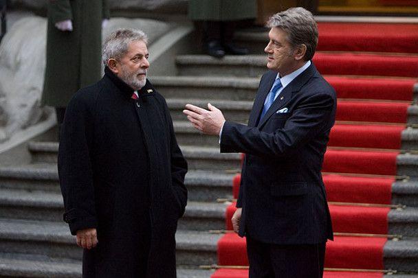 Холодний прийом для президента Бразилії