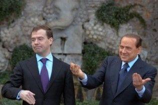 Берлусконі: наша мета - не пропускати газогін через Україну