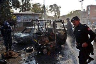 Подвійний теракт на ринку в Пакистані: 20 загиблих, 70 поранених