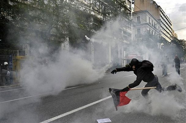 Масові безлади в Греції