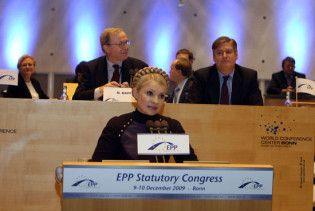 Тимошенко представили в Європі, як майбутнього президента України