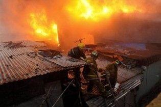 Тисячі філіппінців залишилися без даху над головою через пожежу