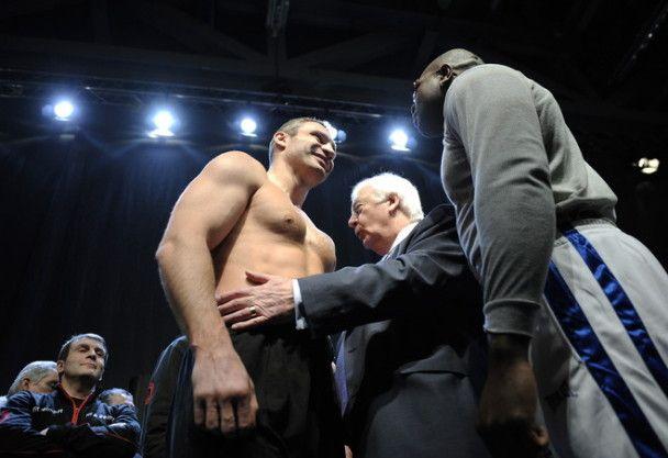 Віталій Кличко: я впевнений у перемозі над Джонсоном