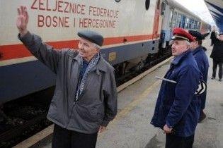 Рух поїзда Белград-Сараєво відновлено після 19-річної перерви