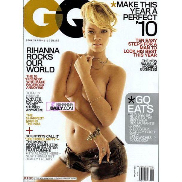 Ріанна роздягнулась для GQ