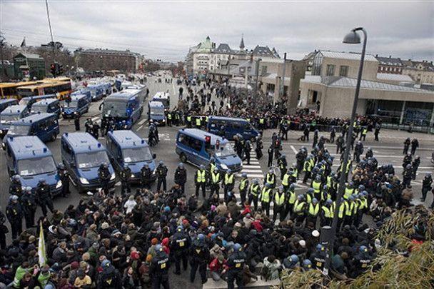 Протести антиглобалістів у Копенгагені