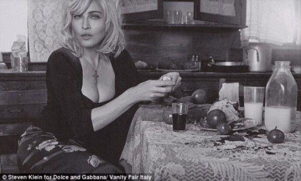 Мадонна помила посуд Дольче і Габане