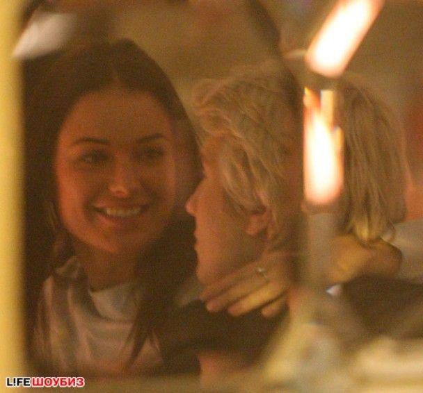 У свій день народження Оксана Фьодорова зацілувала Баскова