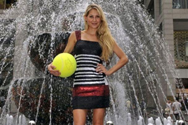 Анна Курнікова виступить на турнірі зірок у Києві