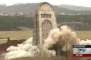 У Кутаїсі затримали підривника Меморіалу слави
