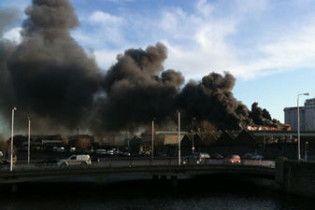 У Дубліні загорівся пивоварний завод Guinness