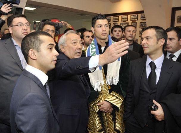 Кріштіану Роналду шокував Узбекистан