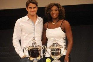 Роджер Федерер і Серена Вільямс - чемпіони світу з тенісу