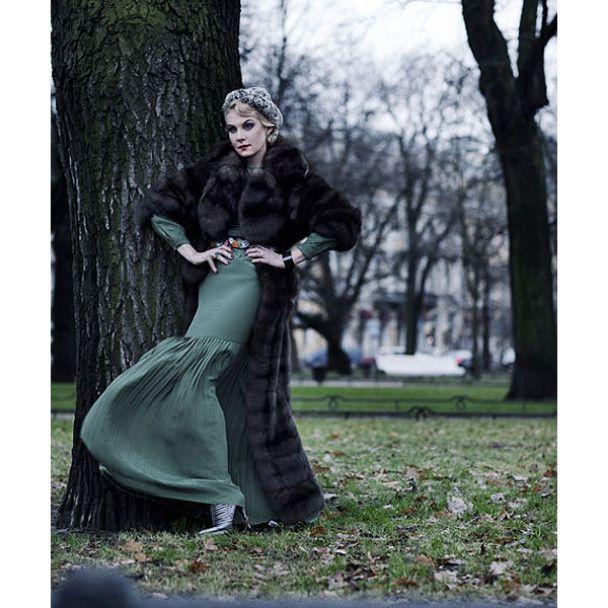 Нова аристократична фотосесія Ренати Літвінової