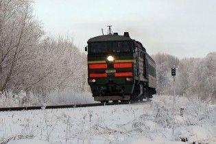На Тернопільщині зійшов з рейок потяг Київ-Софія
