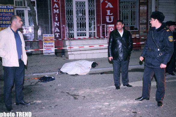 Смертник підірвав себе у Баку