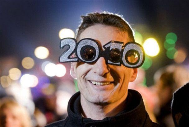 Як світ зустрічав 2010 рік