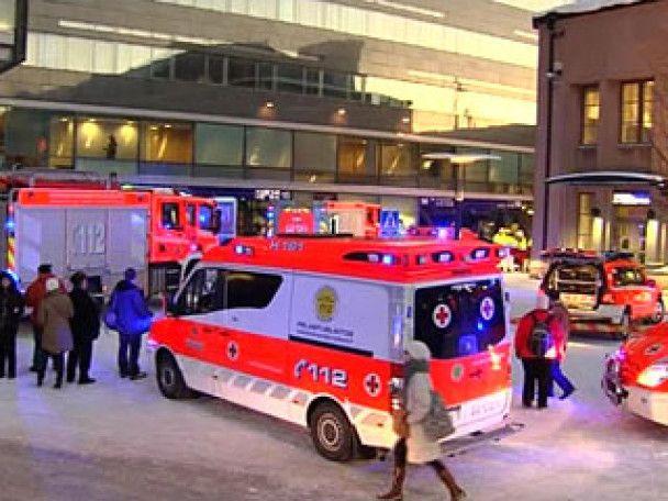 Залізничний вагон протаранив розкішний готель у Гельсінкі