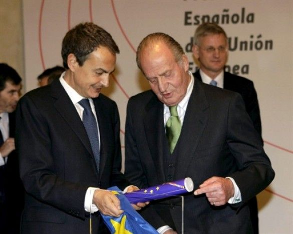 Хосе Луїс Родрігес Сапатеро і Хуан Карлос I