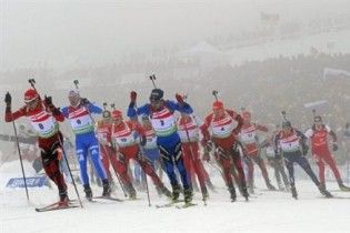 Українці залишилися без медалей на 4-му етапі Кубка світу з біатлону