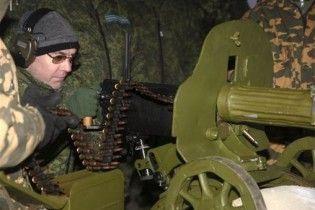 Мєдвєдєв постріляв з кулемета